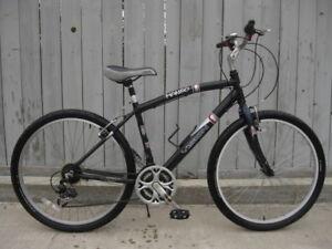 Men's Al & steel frame hybrid bikes, Vision, CCM, $60 and up