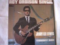 Vinyl LP Roy Orbison , Sings With Jerry Lee Lewis Tommy Roe