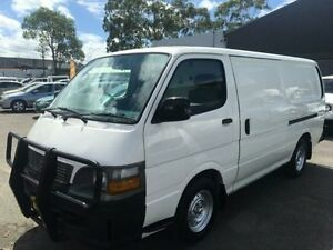 1999 Toyota Hiace RZH103R White 4 Speed Automatic Van Revesby Bankstown Area Preview