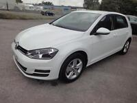 LHD 2013 Volkswagen Golf 1.4 Petrol TSI Blue Motion Automatic 5Door. SPANISH REG