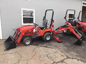 Massey Ferguson Subcompact Tractor Loader Backhoe - GC1710
