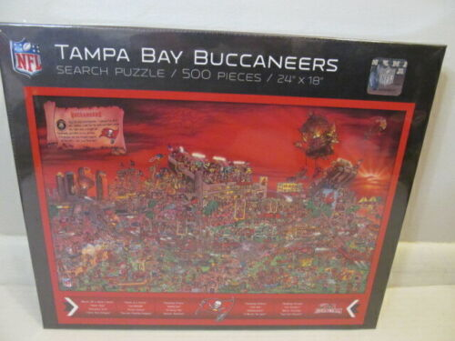 """You the Fan! NFL Tampa Bay Buccaneers 500 Piece Search Puzzle, 24"""" x 18"""""""