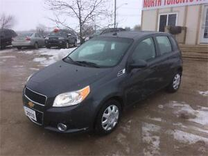 2010 CHEVROLET AVEO LT - SUNROOF - 4 CYLINDER - LOW KM