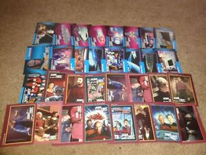 Star Trek Trading Cards with sleeves