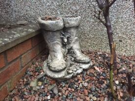 Selection of Garden ornaments and displays