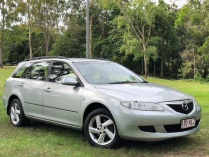 2003 Mazda 6 GY1031 Classic Silver 4 Speed Automatic Wagon