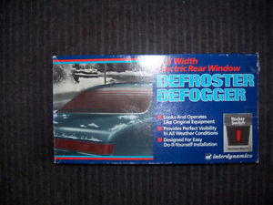 Rear Window Defrost Kit