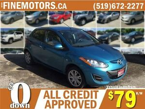 2011 MAZDA MAZDA2 GS HATCHBACK * LOW KM * HIGH FUEL ECONOMY