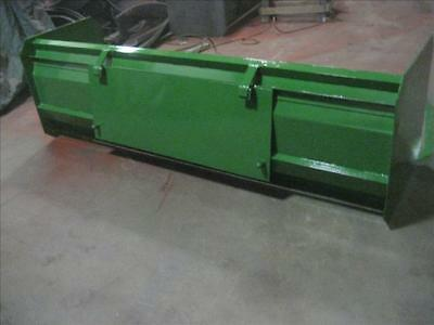 New 72 6 Snow Box Pusher Plow Blade John Deere Compact Tractor