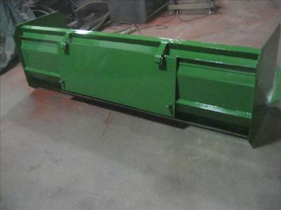 New 72 6 Snow Box Pusher Plow Blade John Deere Compact Tractor