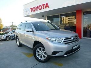 2012 Toyota Kluger GSU40R MY11 Upgrade KX-R (FWD) 7 Seat Silver Pearl 5 Speed Automatic Wagon Allawah Kogarah Area Preview