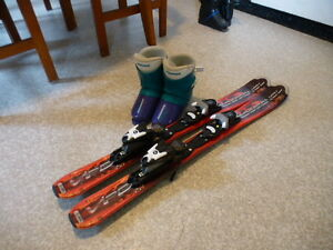 Rossignol Skis and boots