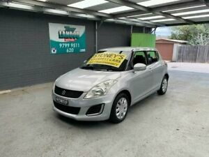 2011 Suzuki Swift FZ GL Silver 5 Speed Manual Hatchback Croydon Burwood Area Preview