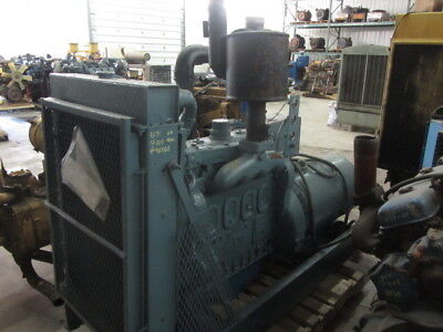 Used Detroit 4-71 Diesel Generator All Complete And Run Tested
