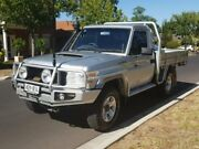 2009 Toyota Landcruiser VDJ79R MY10 GX White 5 Speed Manual Cab Chassis Hillcrest Port Adelaide Area Preview