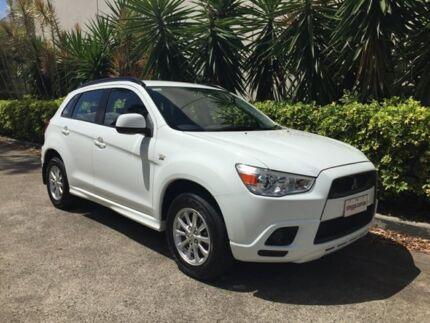 2011 Mitsubishi ASX XA (2WD) White Continuous Variable Wagon Bowen Hills Brisbane North East Preview