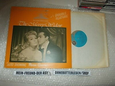 The Merry Widow Songs - LP OST The Merry Widow / Rose Marie : Double Feature (16 Song) MGM METRO GOLDWYN