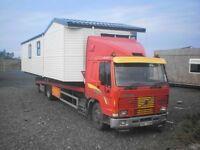 Mobile home transport truck