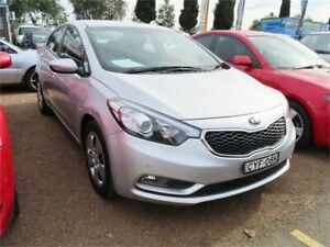 2015 Kia Cerato YD MY15 S Silver, Chrome 6 Speed Sports Automatic Sedan Minchinbury Blacktown Area Preview