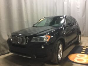 2013 BMW X3 28i-Heated Leather + Back-Up Cam, CD Player and Su