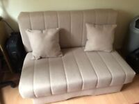As New 2 seater Sofa Bed. Perfect condition