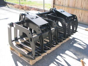 Skid Steer Heavy Duty Brush Grapples