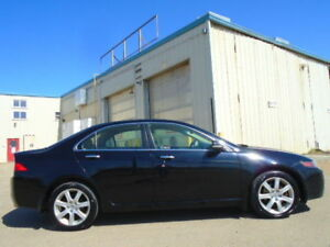 2004 ACURA TSX-2.4L 4 CYL-SUNROOF-HEATED LEATHER--6 SPEED