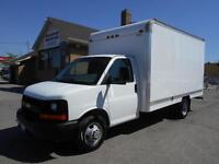 2011 CHEVROLET Express 3500 14Ft Cube Van Loaded ONLY 80,000KMs