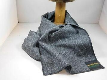 City Sport sjaal donegal tweed grijs