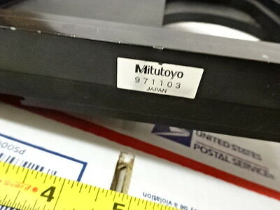 Stage Specimen Table Micrometer Microscope Spare Mitutoyo Ultraplan As Is Btb-1