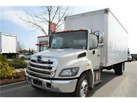 2014 Hino 338 with 24' Insulated Van Body - Call Us Today