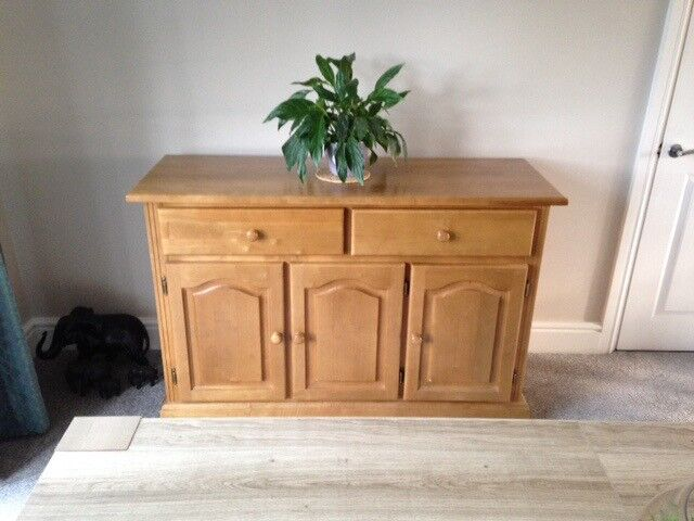 Pine Sideboard Good Condition