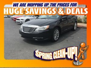 2013 Chrysler 200 Touring Convertible (LEATHER)