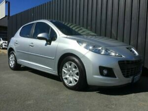 2011 Peugeot 207 MY10 Upgrade XR Silver 5 Speed Manual Hatchback Phillip Woden Valley Preview