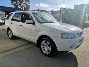 2005 Ford Territory SX Ghia (4x4) White 4 Speed Auto Seq Sportshift Wagon Lidcombe Auburn Area Preview