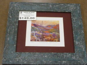 Group of Seven, Tom Thomson Limited Edition Collectible Painting