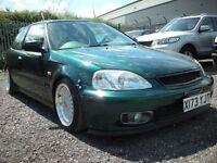 HONDA CIVIC 1.4 SE 3d 90 BHP (green) 2000