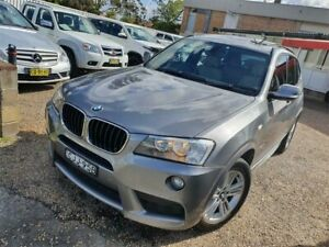 2012 BMW X3 F25 MY0412 xDrive20d Steptronic Space Grey 8 Speed Automatic Wagon Sylvania Sutherland Area Preview