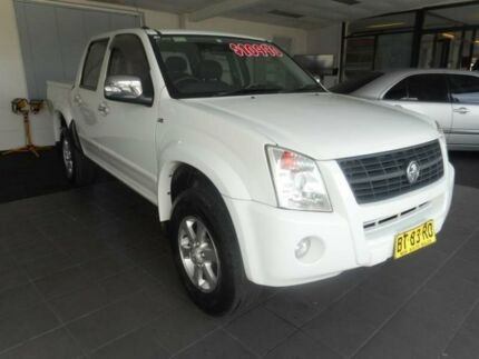2007 Holden Rodeo RA MY08 LT White 4 Speed Automatic Crewcab Haberfield Ashfield Area Preview