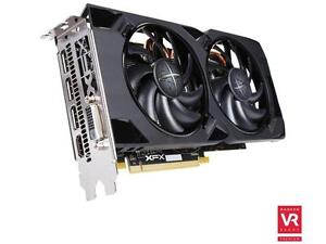 XFX Radeon RS RX 480 (480P4LFB6) 4GB PLUS LED HARD SWAP FANS