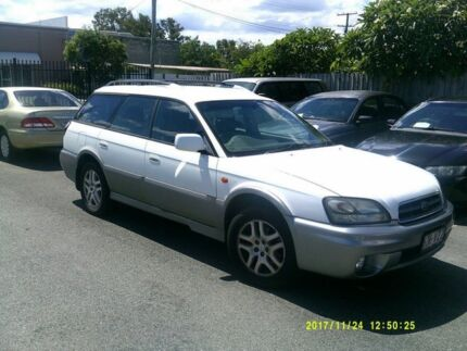 2002 Subaru Outback MY02 Limited White 4 Speed Automatic Wagon