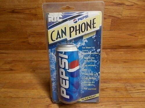 PEPSI Can Shaped Phone Soda Pop Telephone - RTC RON-7000 - Never Used