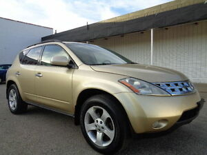 2003 Nissan Murano SL SPORT -3.5L V6 AWD--DRIVES EXCELLENT