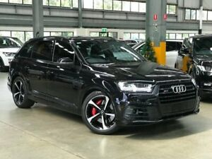 2017 Audi SQ7 4M TDI Wagon 7st 5dr Tiptronic 8sp 4WD 4.0DTT [MY18] Black Sports Automatic Wagon Port Melbourne Port Phillip Preview