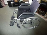 Sunrise Medical Breezy 315 lightweight wheelchair with cushion