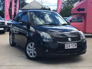 2009 Suzuki Swift RS415 S Black 5 Speed Manual Hatchback South Toowoomba Toowoomba City Preview
