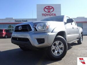 2015 Toyota Tacoma DBL CAB V6/ Clean CarProof/ 1 Owner