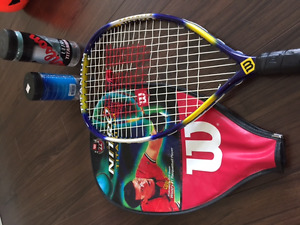 Racquetball Racket With Balls