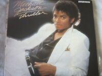 Vinyl LP Michael Jackson Thriller Epic EPC 85930 £5.