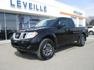 2017 Nissan Frontier PRO-4X/MANUELLE/GPS/MAGS/9780 KM